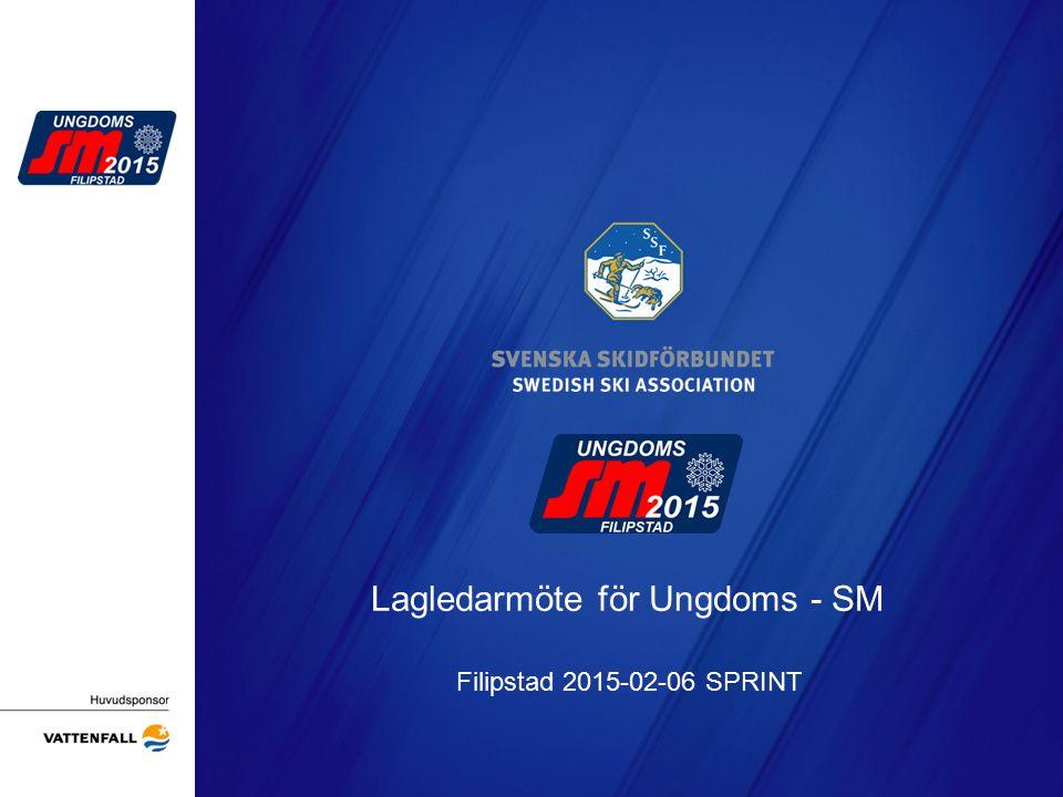 Presentation av tävlingsbanorna Arrangörens logotyp
