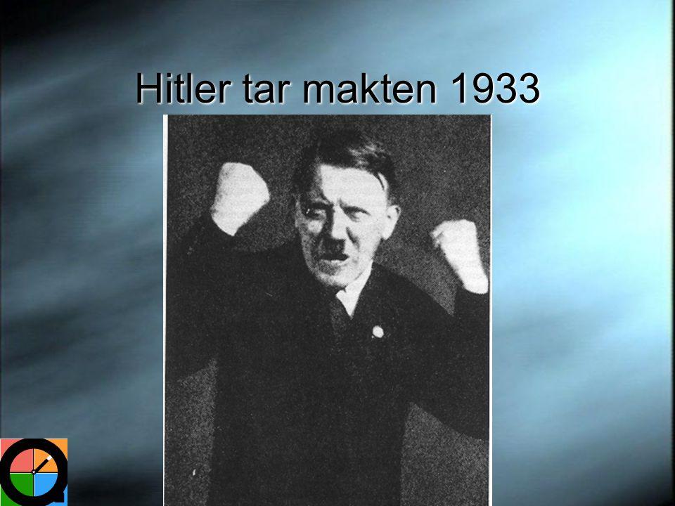 Hitler tar makten 1933