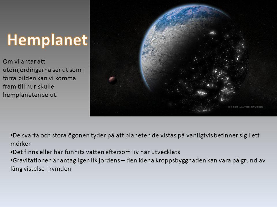 Om vi antar att utomjordingarna ser ut som i förra bilden kan vi komma fram till hur skulle hemplaneten se ut.