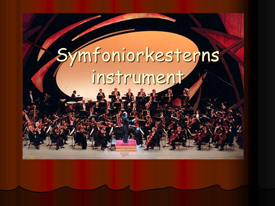 Symfoniorkesterns instrument