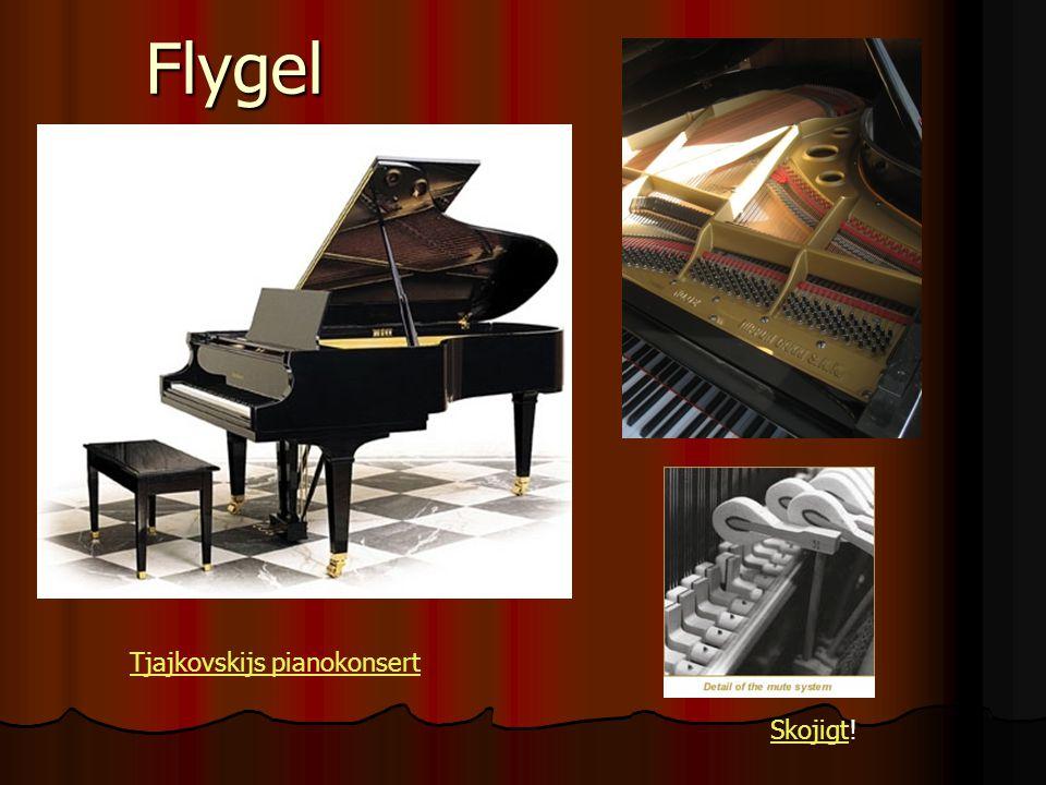 Flygel SkojigtSkojigt! Tjajkovskijs pianokonsert