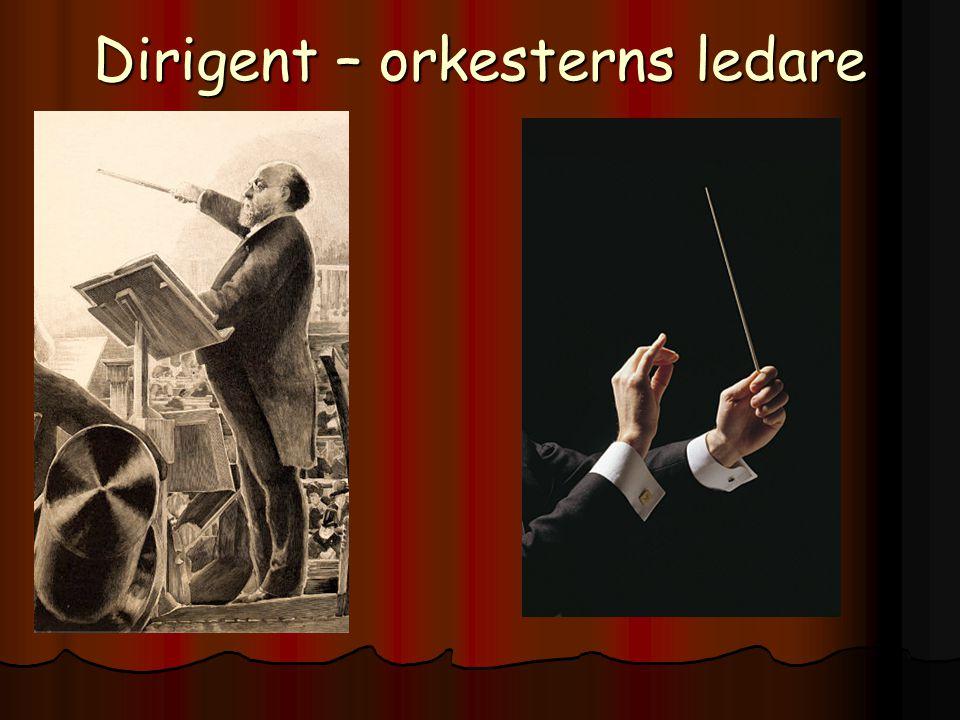 Partitur – Dirigentens noter Visar vad alla instrument spelar!