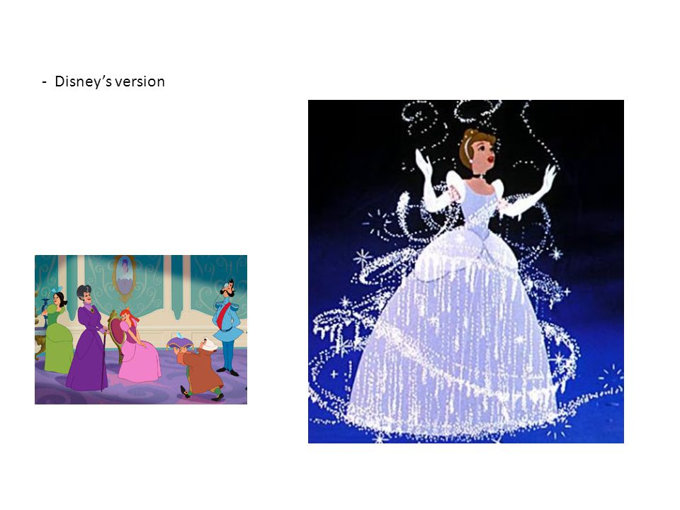 - Disney's version