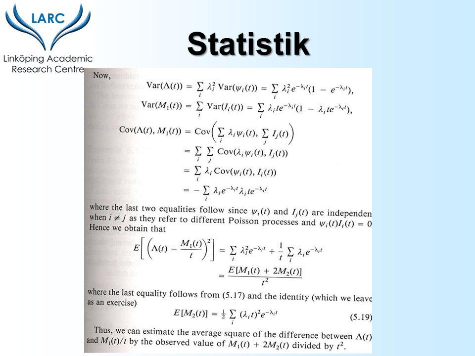 Kvotskala Egenskaper: Absolut nollpunkt Exempel: Vikt, temperatur (kelvin) Statistik