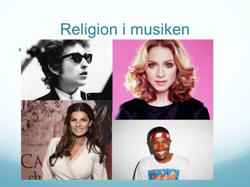 Religion i musiken f