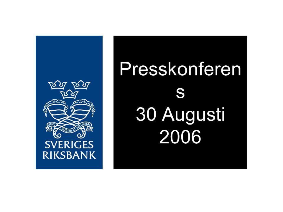 Presskonferen s 30 Augusti 2006