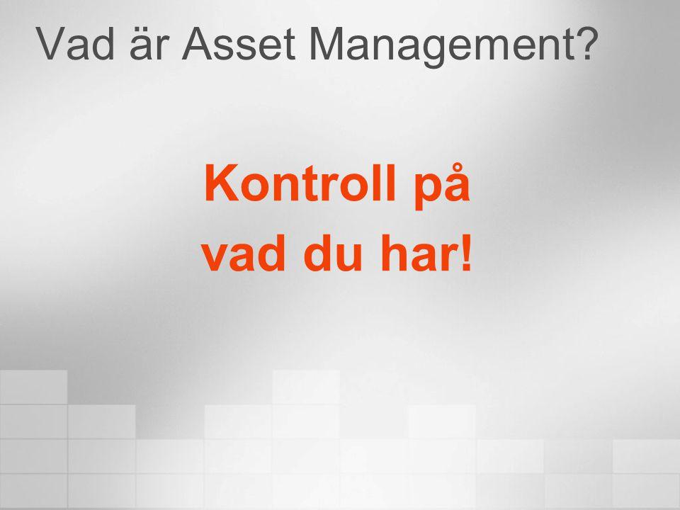 Vad är Asset Management? Kontroll på vad du har!
