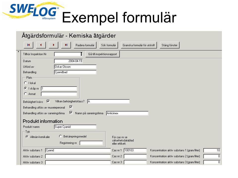 Rapporter Rapporterna sammanfattar och presenterar informationen i databasen En rapport besvarar vanligtvis en fråga Du kan formatera informationen så den blir lättläst och enkel Rapporter formateras i allmänhet för att skrivas ut men kan också visas på skärmen, exporteras till andra program eller skickas som e-postmeddelanden