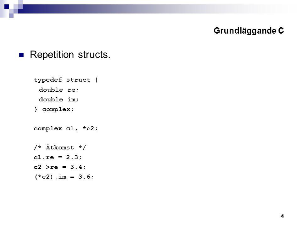 5 Grundläggande C Repetition enum.