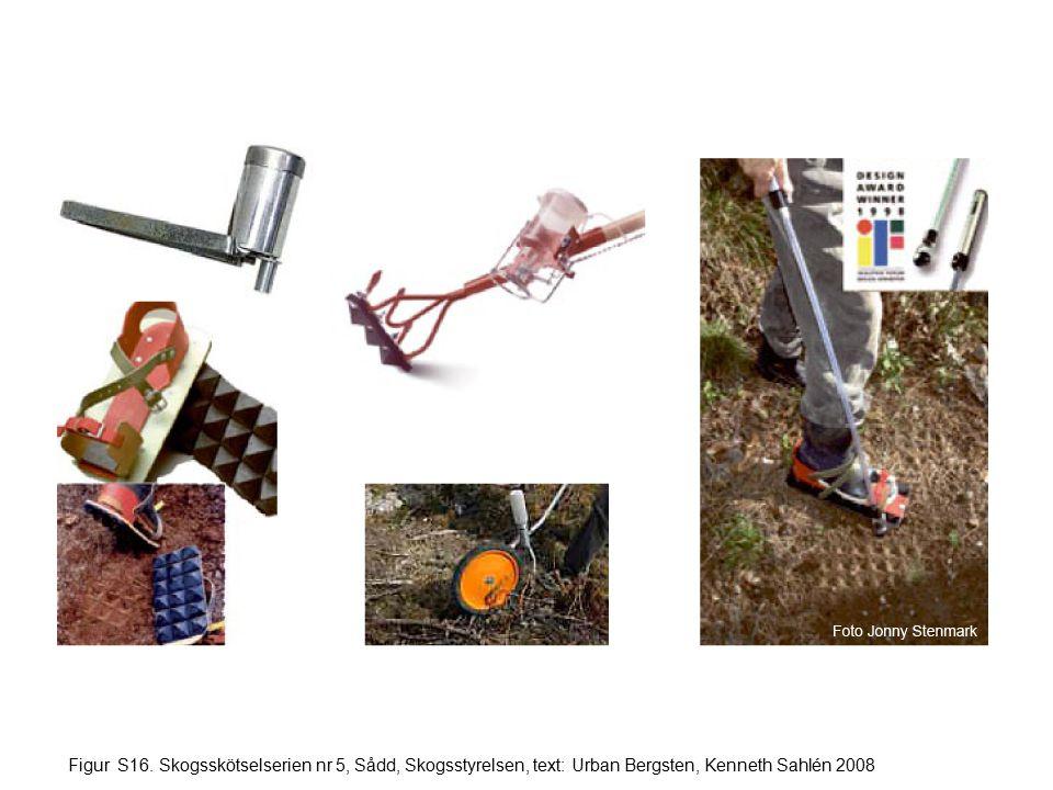 Figur S16. Skogsskötselserien nr 5, Sådd, Skogsstyrelsen, text: Urban Bergsten, Kenneth Sahlén 2008