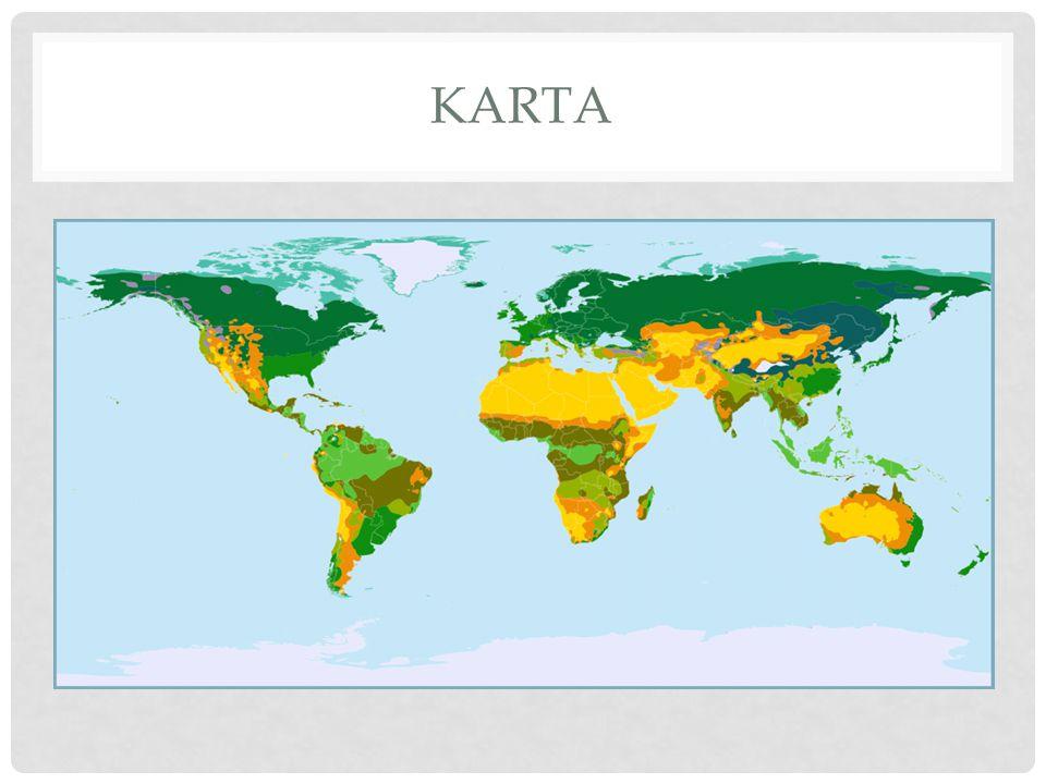 KLIMATZONER Vilket klimat som uppstår i ett område är beroende av om det ligger under den polara, den tempererade eller den tropiska luftcellen.