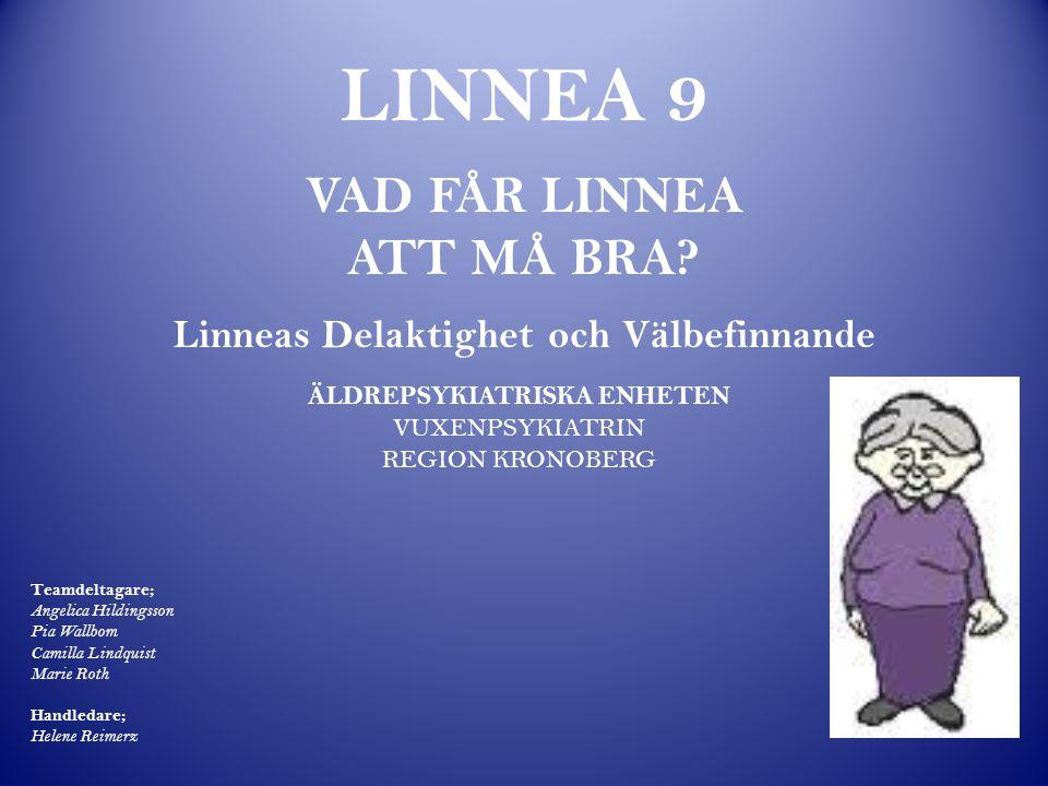 HUR HAR HJULEN SNURRAT? Vad önskar Linnea egentligen?... Individ- anpassad vård Delaktig Linnea