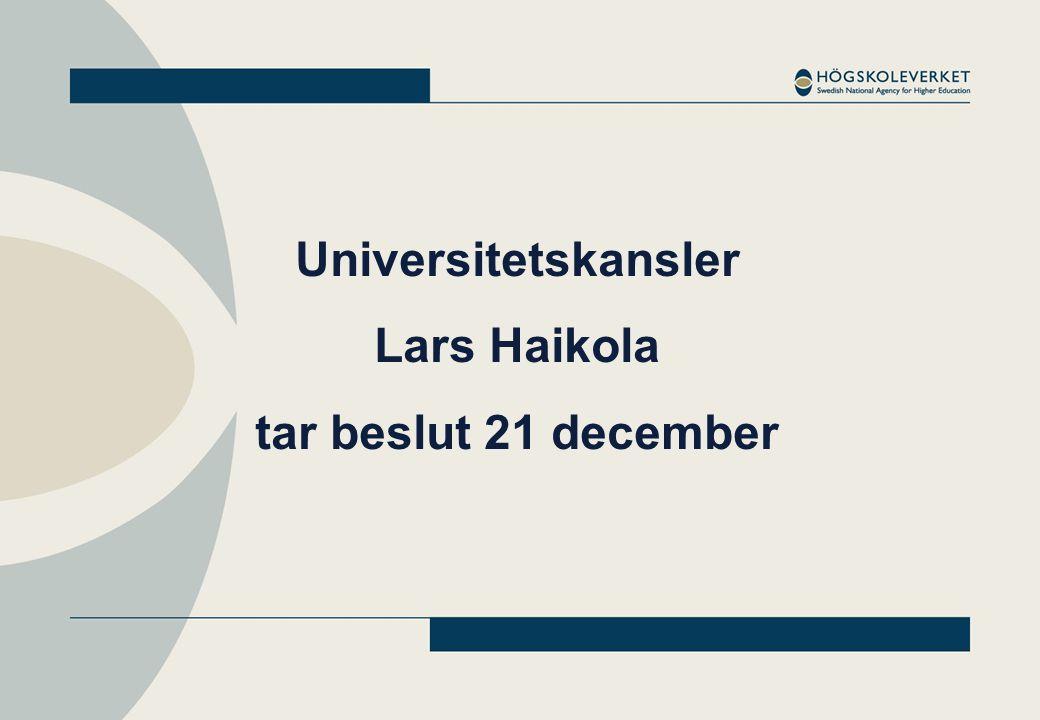 Omgång 2 – start 2011 Språk Juridik Genusvetenskap Vissa vårdutbildningar Folkhälsovetenskap mm