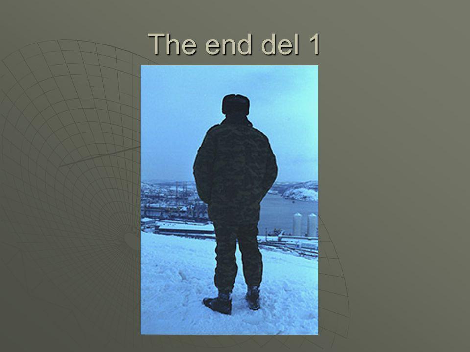The end del 1