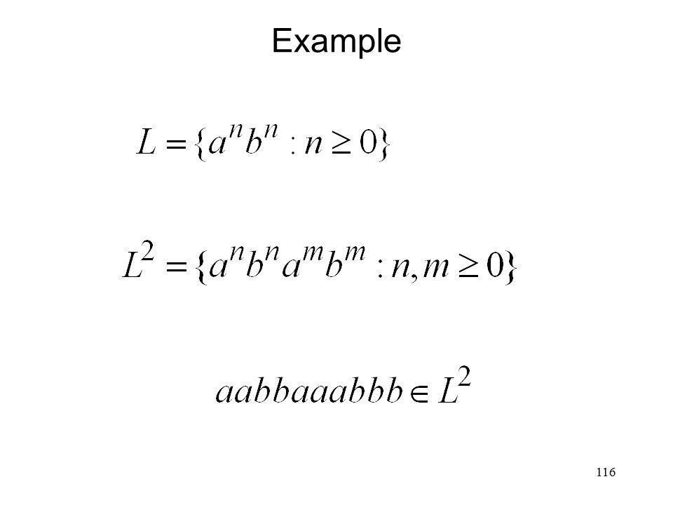 116 Example