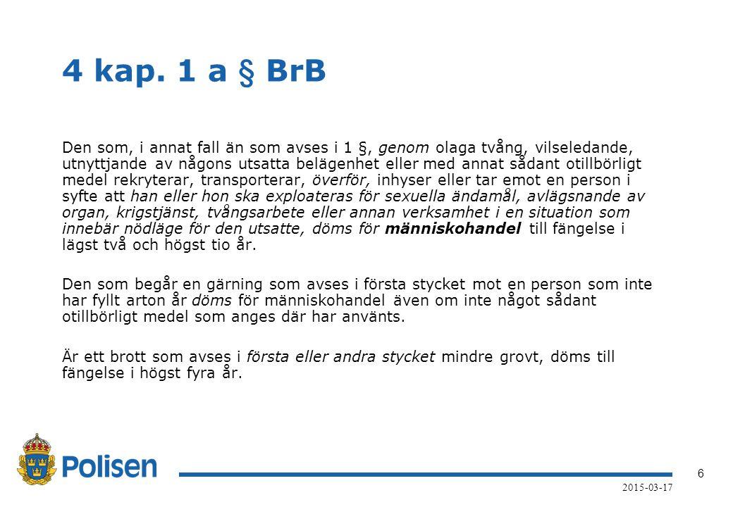 7 2015-03-17 Straffansvarets utformning Medel för genomförandet (otillbörliga medel).