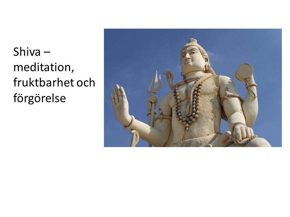 Shiva – meditation, fruktbarhet och förgörelse