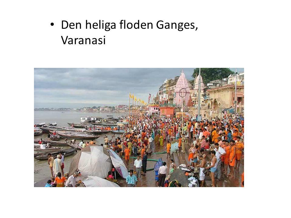 Den heliga floden Ganges, Varanasi