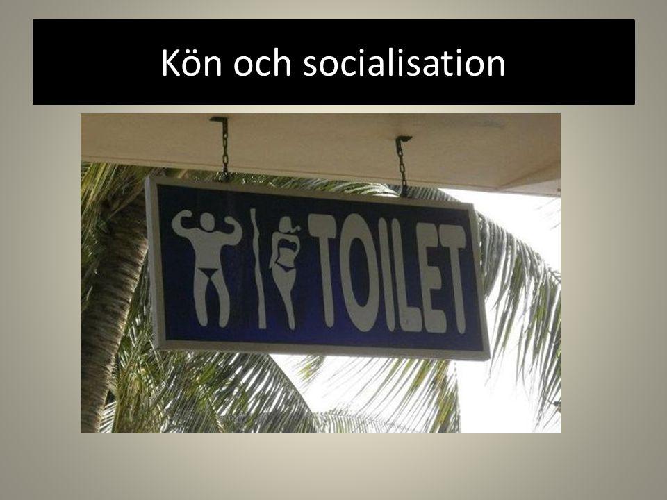 Kön och socialisation