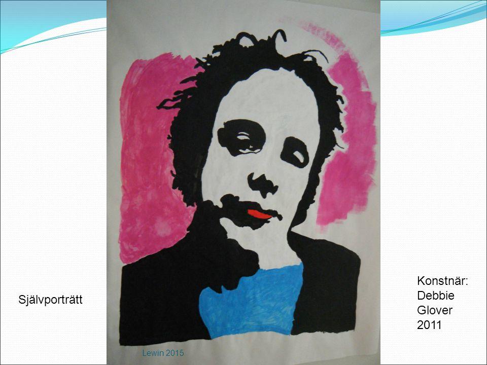 Konstnär: Debbie Glover 2011 Självporträtt