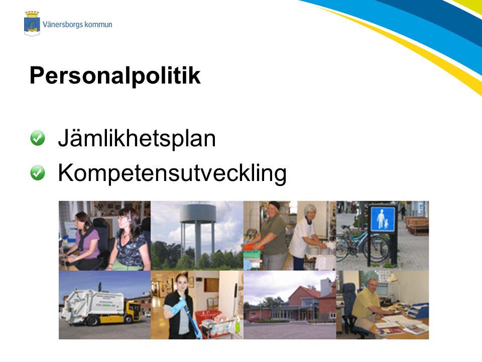 Personalpolitik Jämlikhetsplan Kompetensutveckling