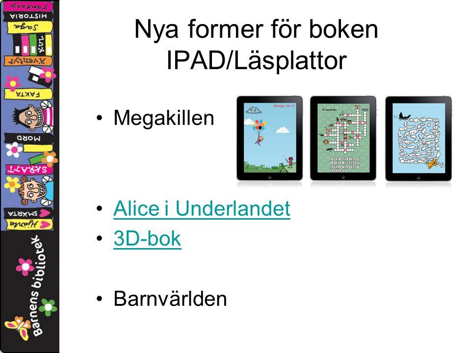 Nya former för boken IPAD/Läsplattor Megakillen Alice i Underlandet 3D-bok Barnvärlden