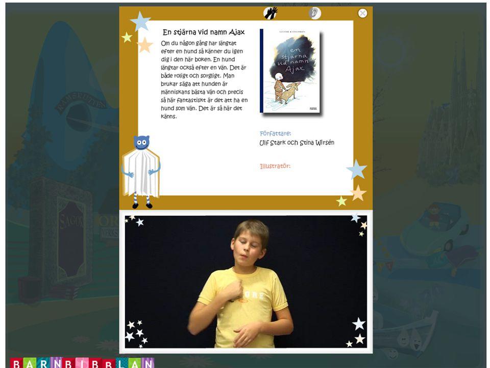 ...barn främst förmedlar en upplevelse genom sina texter och bibliotekarierna ett innehåll. Det finns /…/ en stor potential att arbeta fram en ökad interaktivitet på den form som boktipsen har på webbplatsen nu i skrivande stund. Tina Kolström Barnens bibliotek : Barn och bibliotekarier tipsar om böcker på Internet.