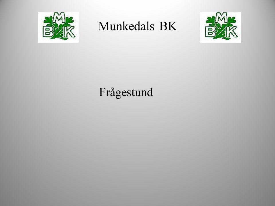Frågestund Munkedals BK