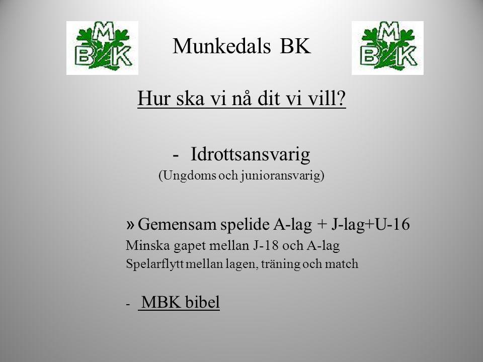 MBK bibeln - Sportslig röd tråd - Så många som möjligt, så länge som möjligt, så duktiga som möjligt -Kortsiktiga resultat vs långsiktigt utveckling.