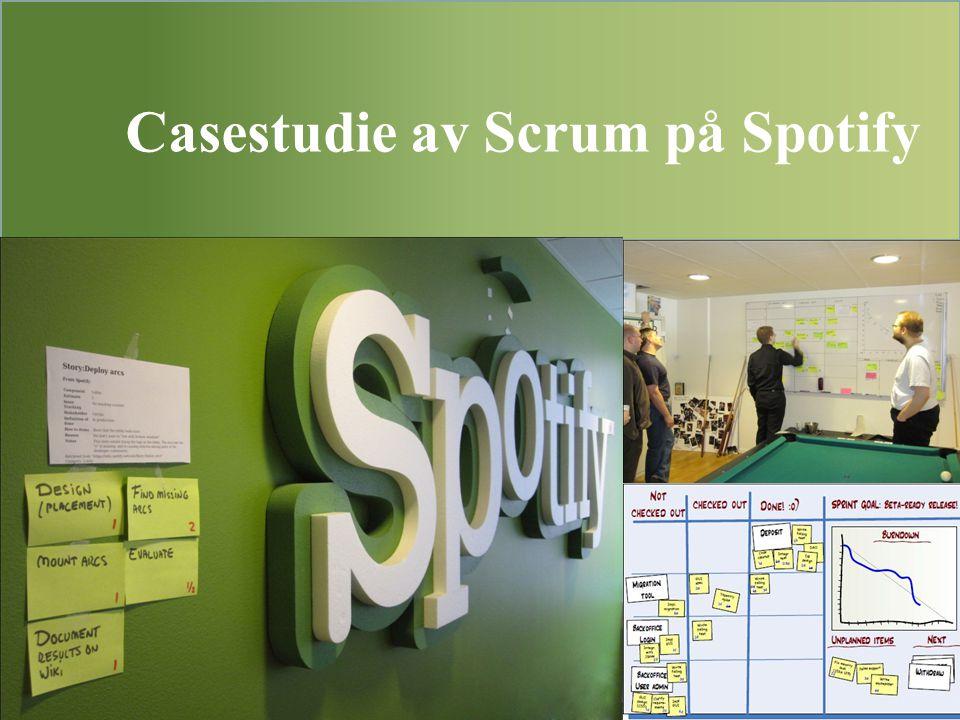 Casestudie av Scrum på Spotify