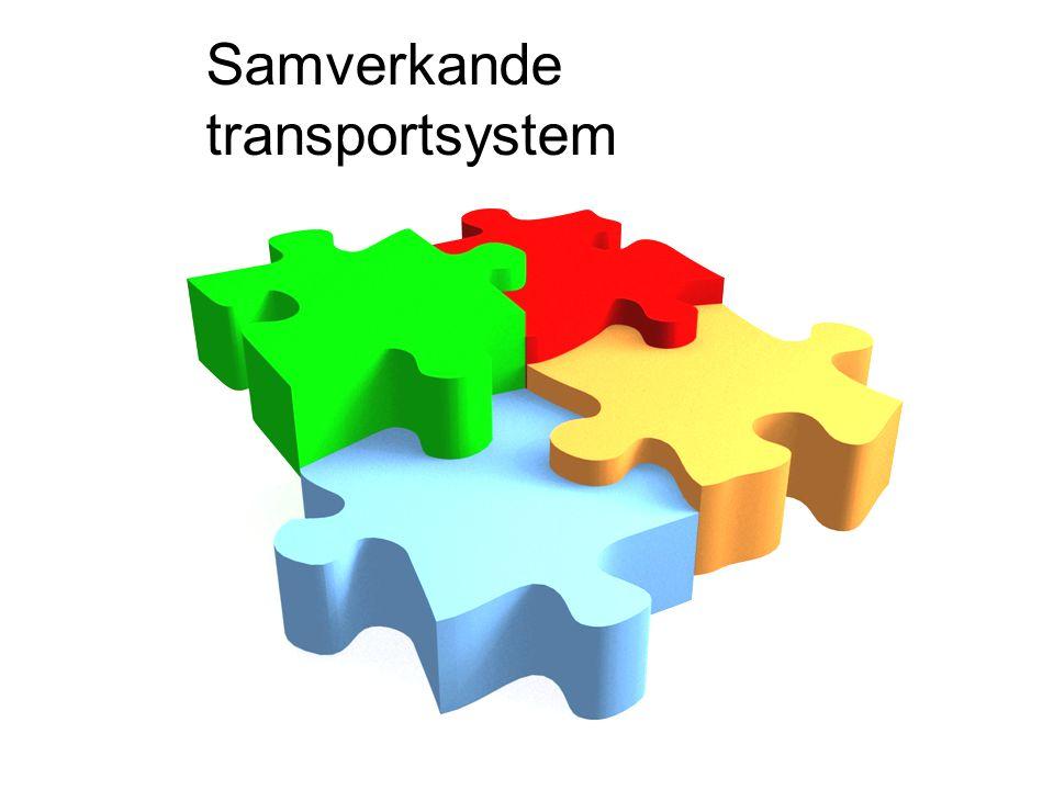 Samverkande transportsystem
