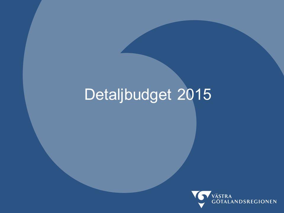 Detaljbudget 2015