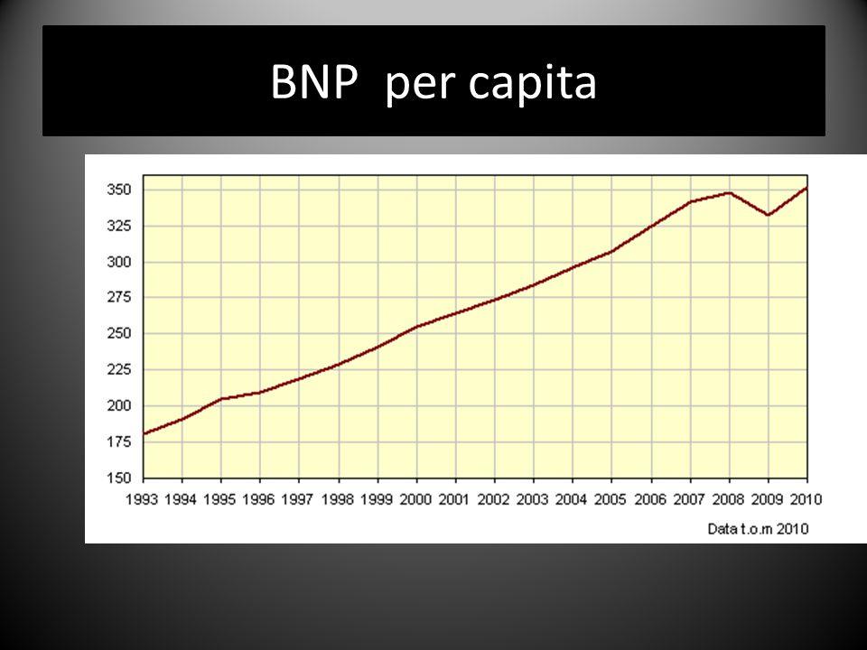 BNP som mått på välfärd  Att registrera de varor och tjänster som ingår i BNP.