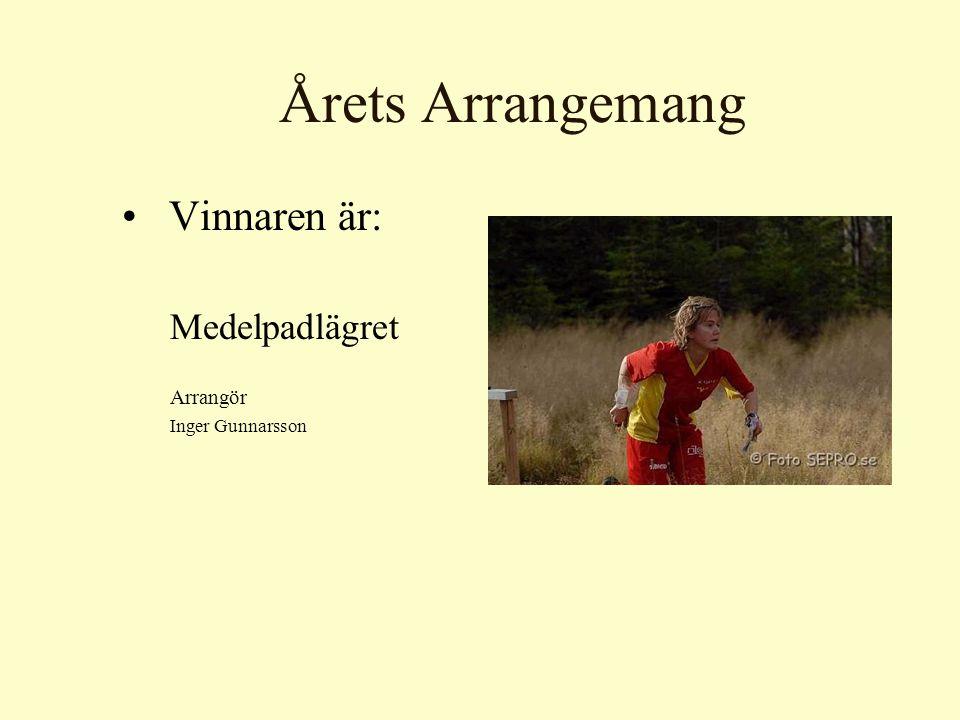Årets VSOKare De nominerade är: –Håkan Andersson – Loket –Per Babbe Sundström