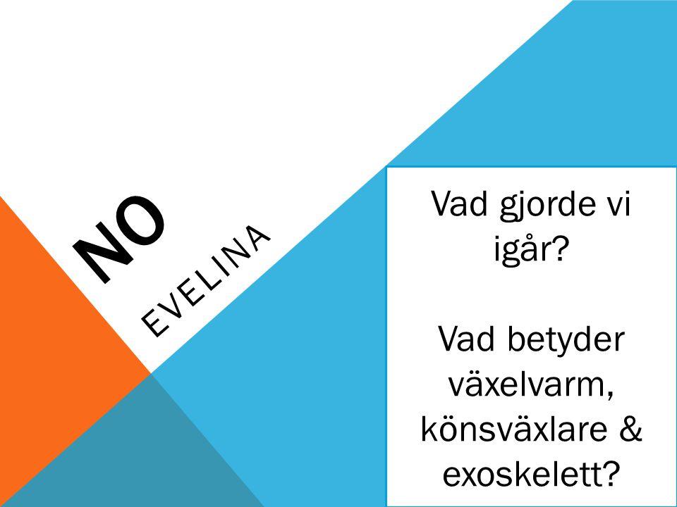 IDAG 1.Repetition 2.Genomgång: Ryggradsdjur Fiskar 3.Diskussion 4.Dagens exit ticket!