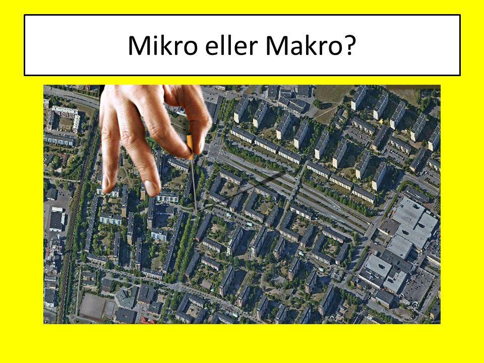 Mikro eller Makro?