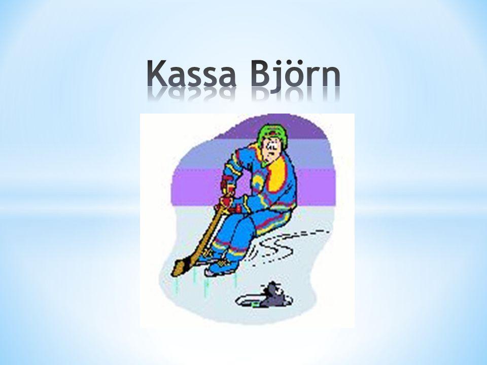 Det är tisdag och Björn ska på sin första ishockeyträning.