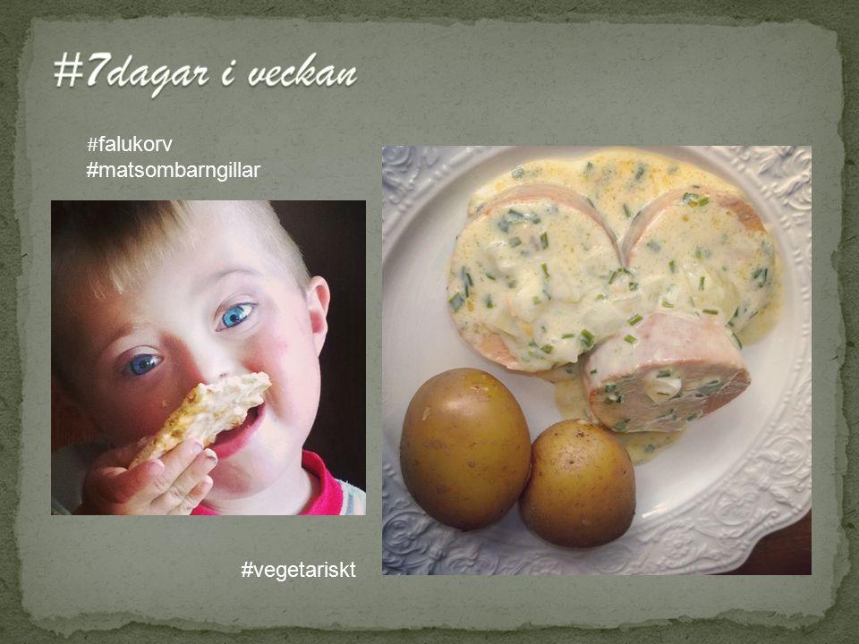 # falukorv #matsombarngillar #vegetariskt