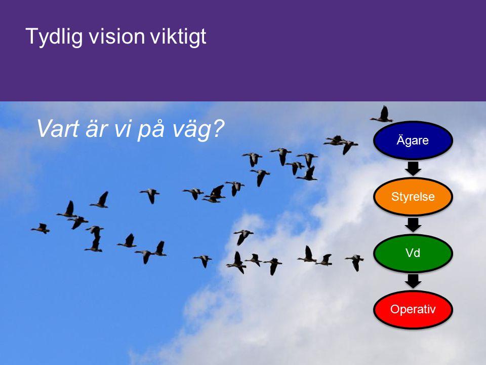 7 © 2014 Grant Thornton. All rights reserved Tydlig vision viktigt ÄgareStyrelseVdOperativ Vart är vi på väg?