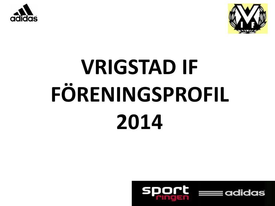 VRIGSTAD IF FÖRENINGSPROFIL 2014