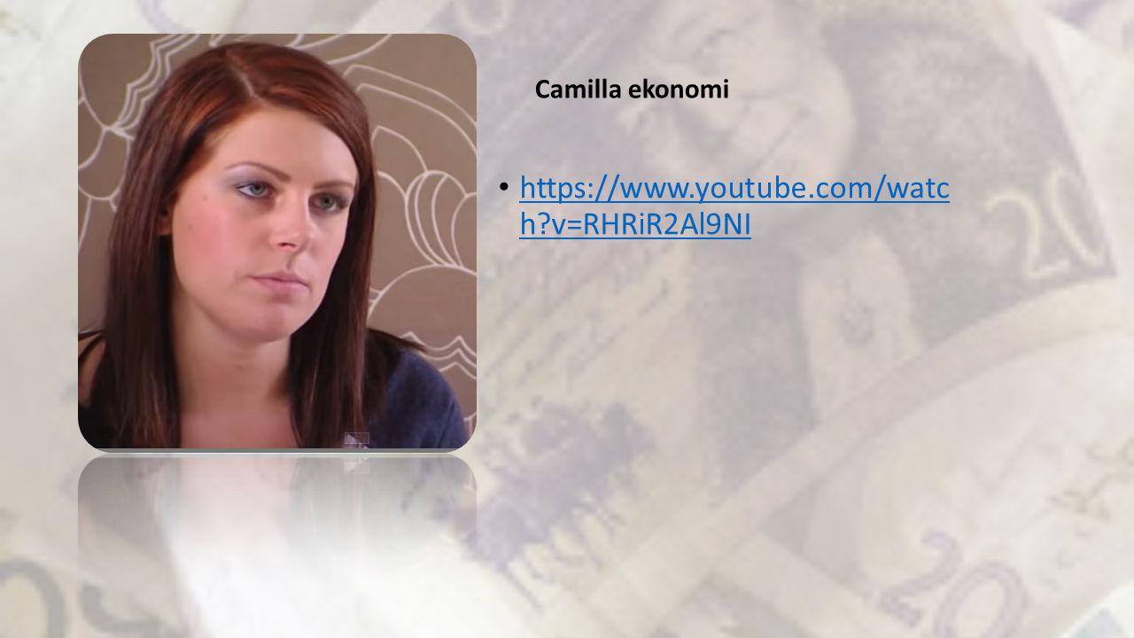 https://www.youtube.com/watc h?v=RHRiR2Al9NI https://www.youtube.com/watc h?v=RHRiR2Al9NI Camilla ekonomi
