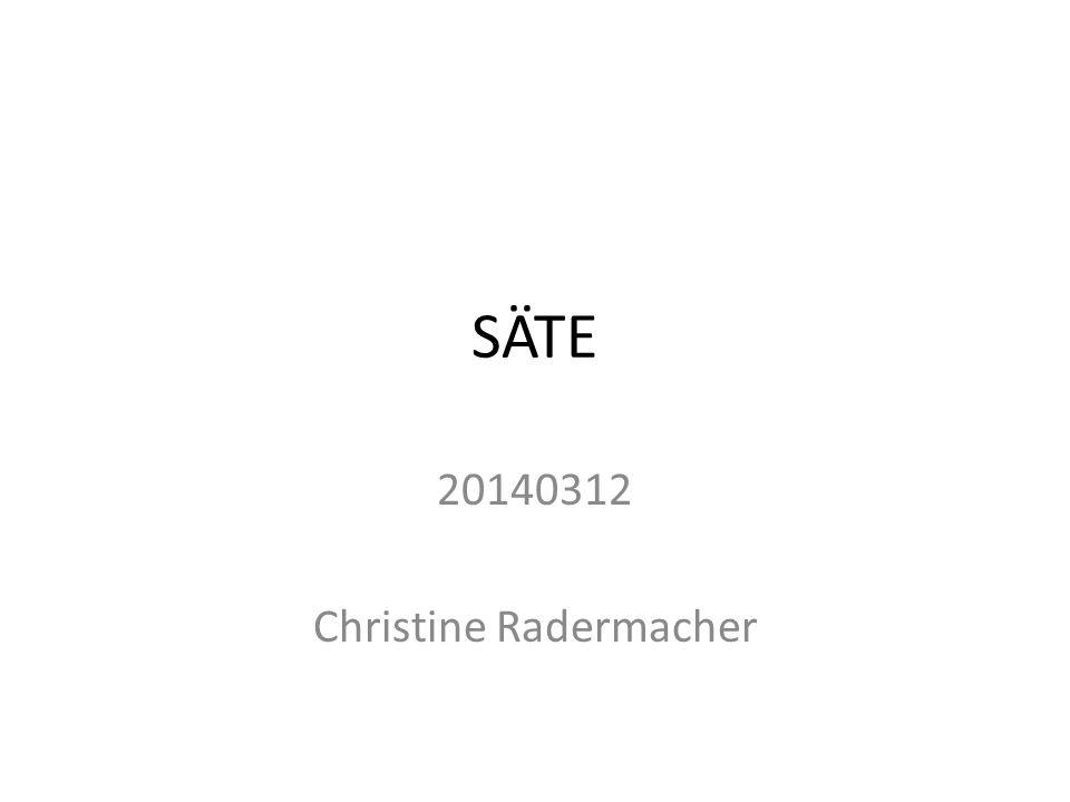 SÄTE 20140312 Christine Radermacher