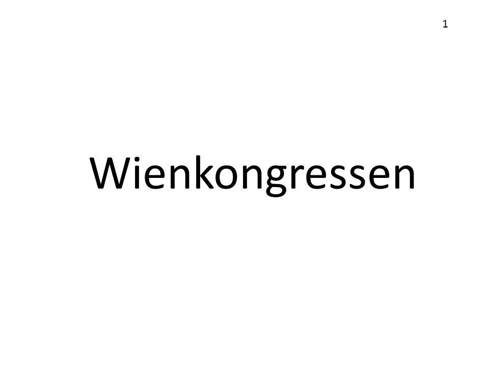 Wienkongressen 1