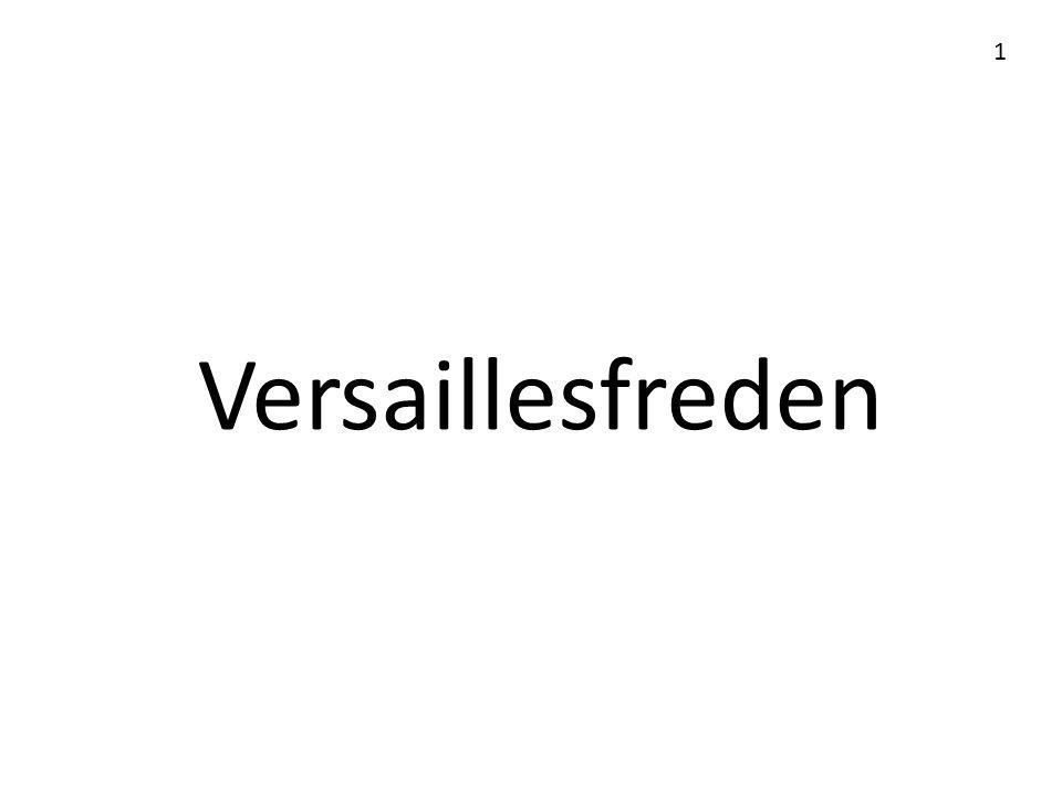 Versaillesfreden 1
