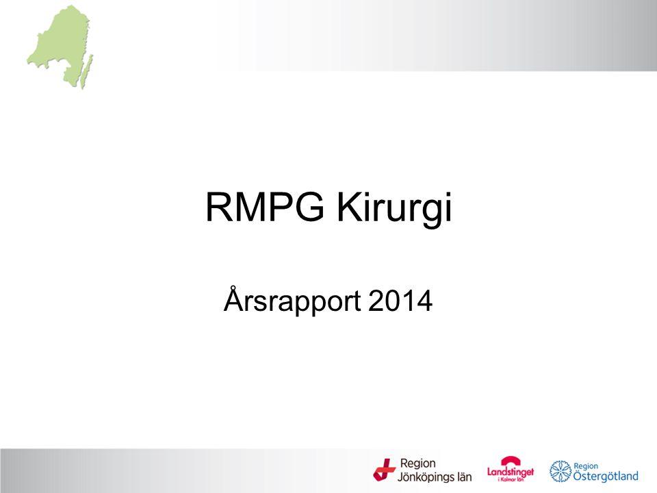 RMPG Kirurgi Årsrapport 2014