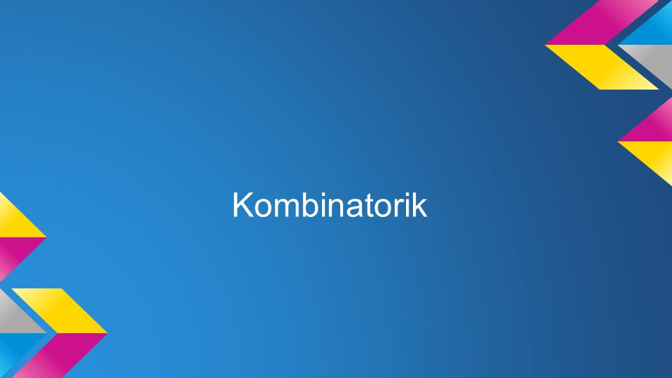 Kombinatorik