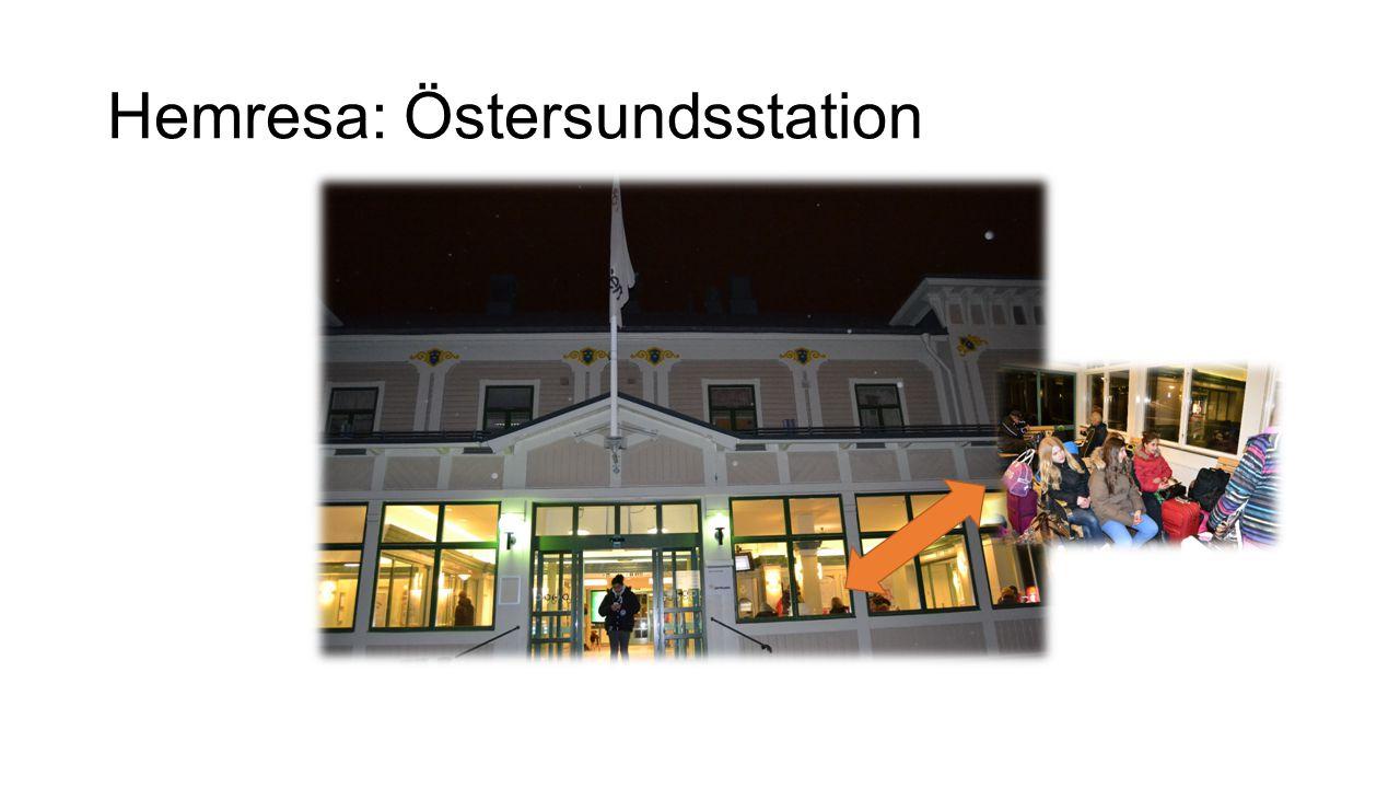 Hemresa: Östersundsstation
