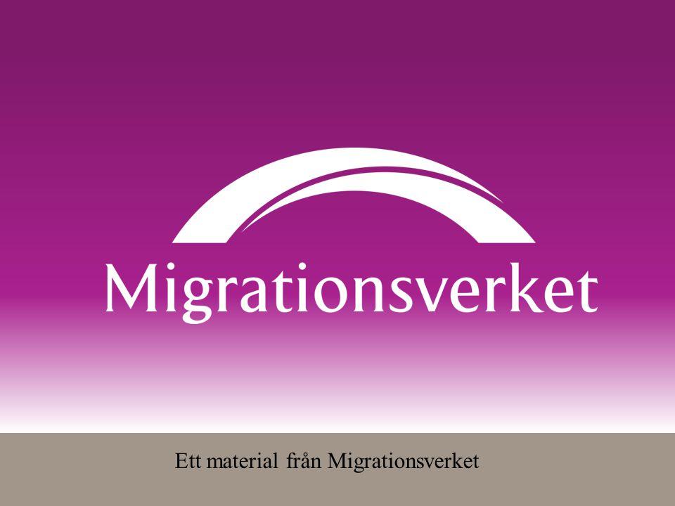 Ett material från Migrationsverket