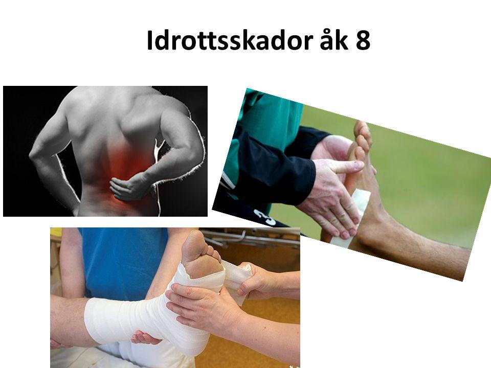 Centralt innehåll Hälsa och livsstil Arbetsställningar och belastning till exempel vid fysiska aktiviteter och förebyggande av skador, genom till exempel allsidig träning.