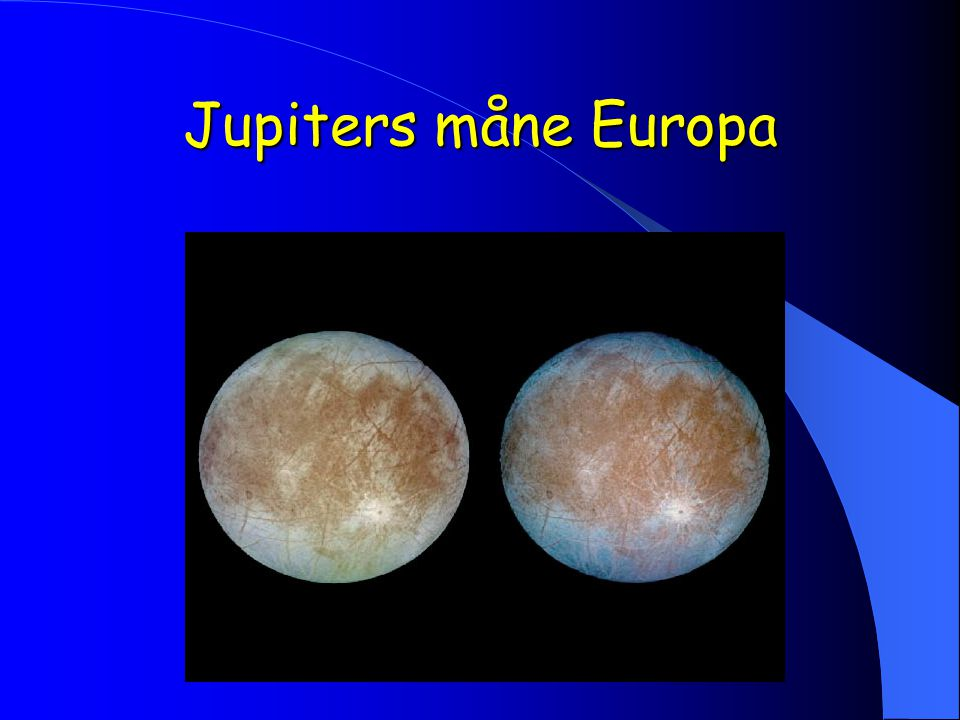 Jupiters måne Europa